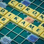 scrabble -corona